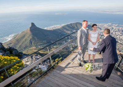 Weddings Abroad Table Mountain packages